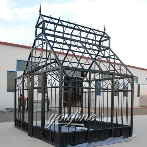 Hot selling Large outdoor metal 10×10 gazebo frame for garden