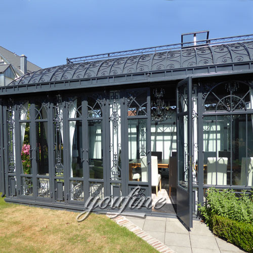 Outdoor large grand garden metal gazebo for sale