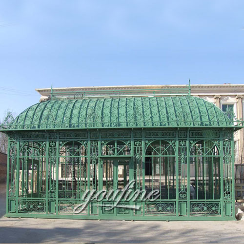 Buying large outdoor garden 12×18 metal steel roof gazebo with best price