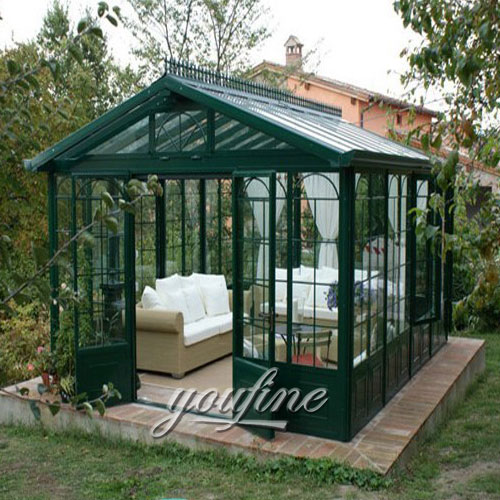 Outdoor large garden decor 9×9 metal top gazebo with best price