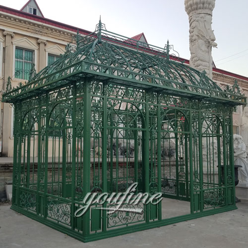 Buying outdoor screened hardtop green 12×12 gazebo