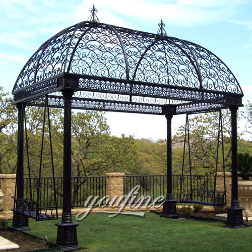 Outdoor large steel hardtop 12×12 gazebo with best price