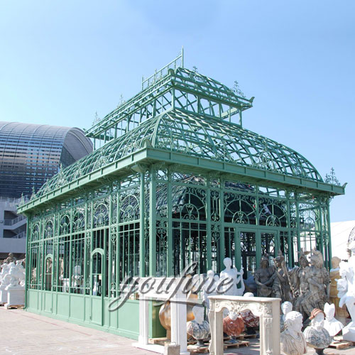 Outdoor large garden decor 12×12 wrought iron gazebo with best price