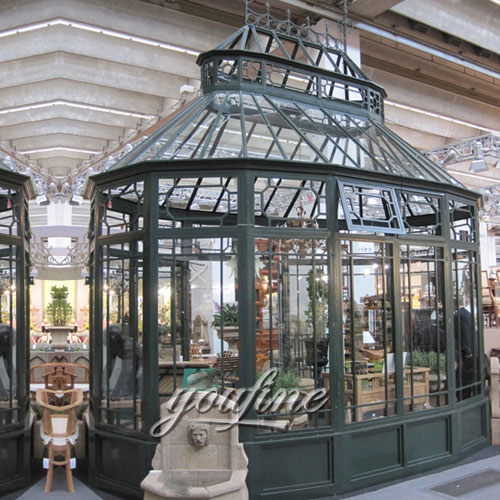 Large Outdoor Garden Wrought Iron Gazebo for Sale